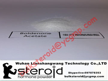 अच्छी गुणवत्ता कच्चे स्टेरॉयड पाउडर & Boldenone Acetate Injectable Steroids CAS 2363-59-9 For Cutting Cycle बिक्री पर
