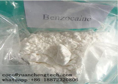 चीन CAS 94-09-7 Local Anesthetic Drugs Benzocaine Powder High Purity GMP ISO Certification फैक्टरी